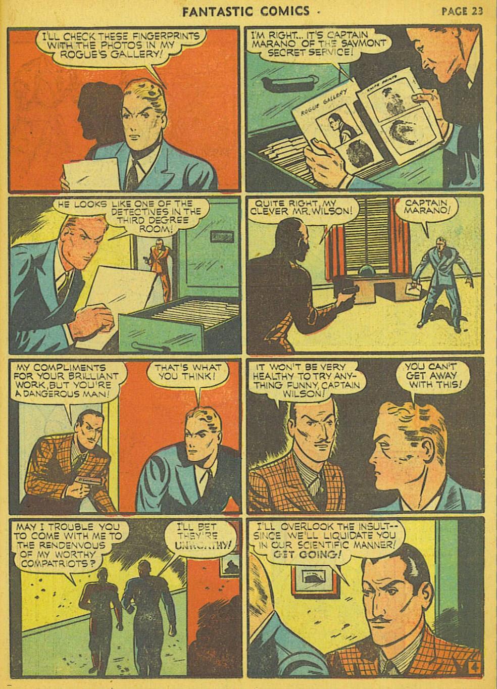 Read online Fantastic Comics comic -  Issue #15 - 17