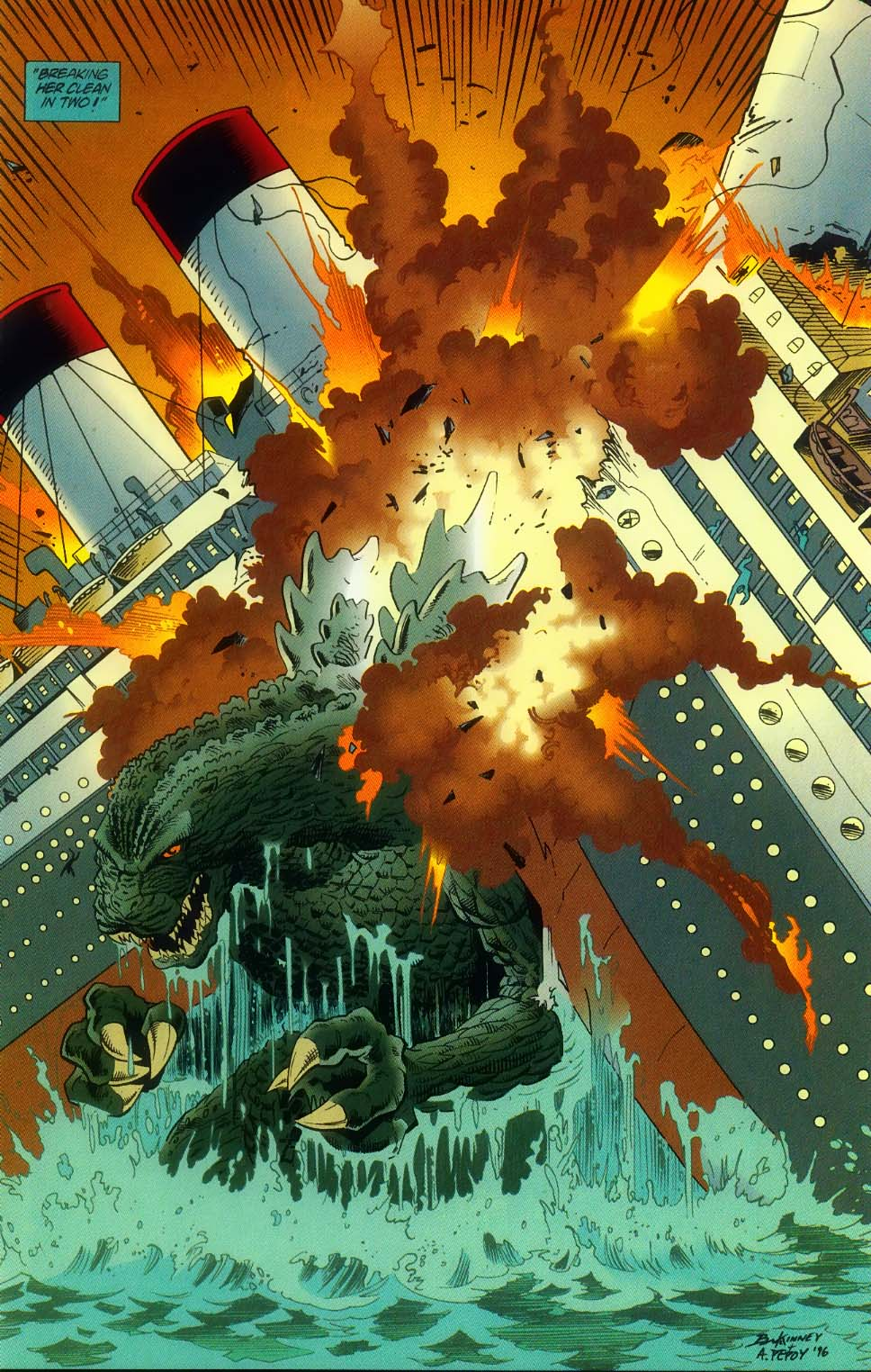 Godzilla (1995) Issue #11 #12 - English 10