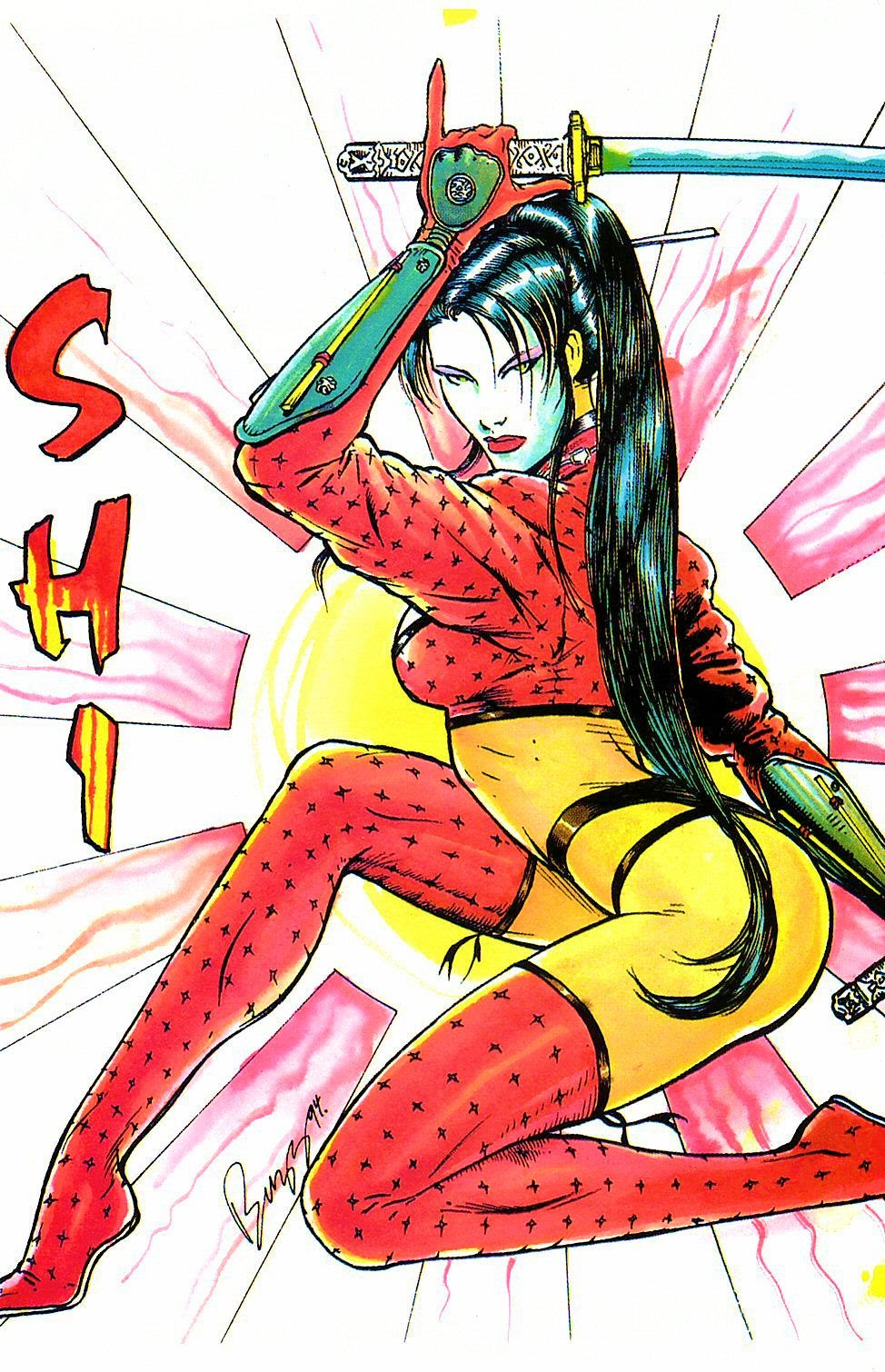 Read online Shi: The Way of the Warrior comic -  Issue #2 - 19