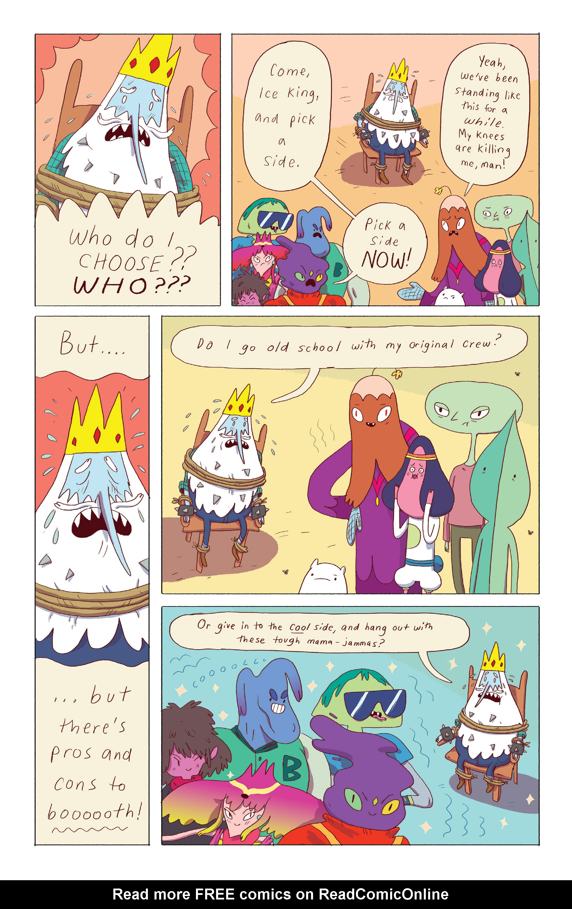 Read online Adventure Time: Ice King comic -  Issue #4 - 4