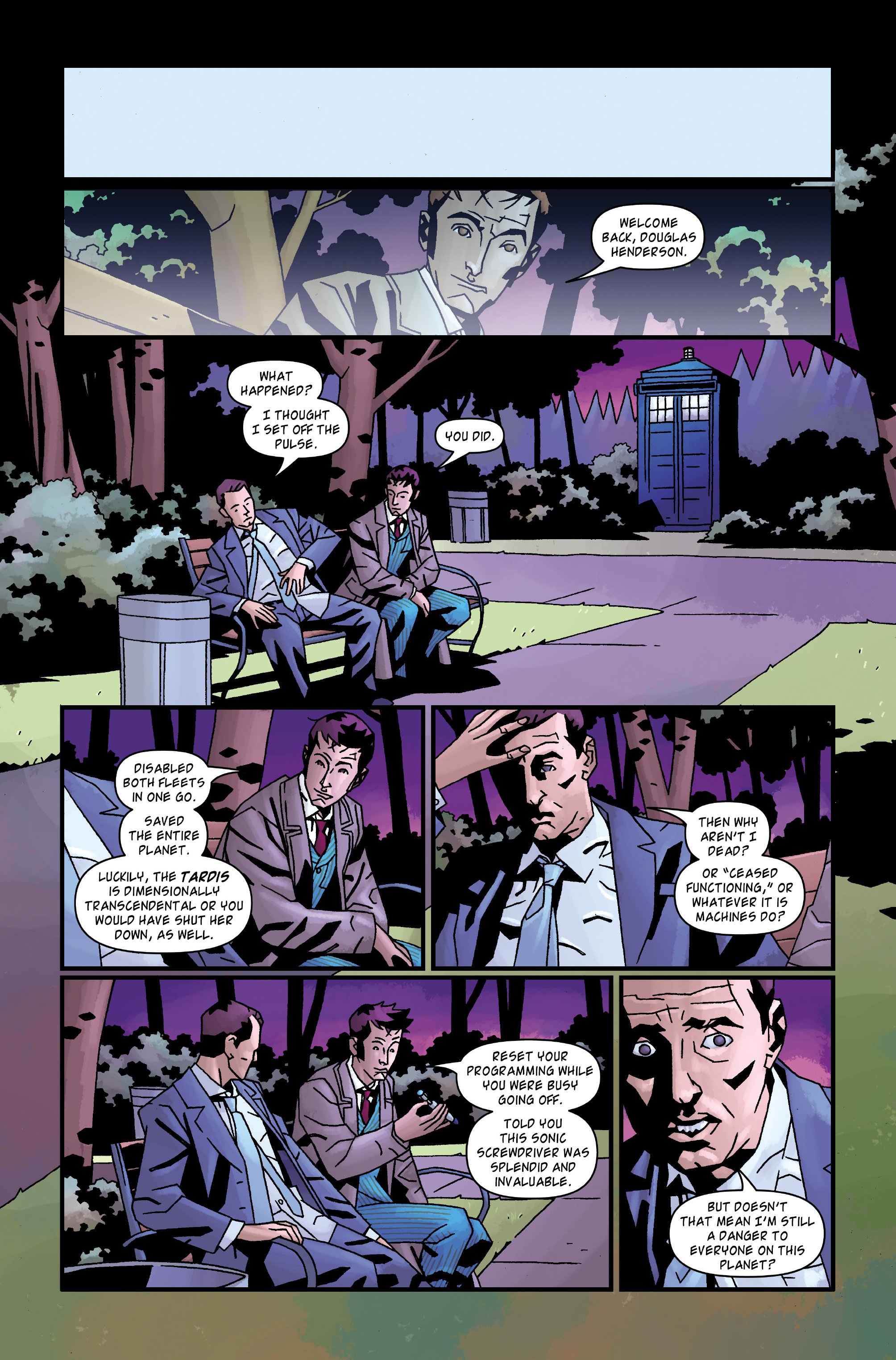 Read online Doctor Who: The Tenth Doctor Archives comic -  Issue #35 - 34