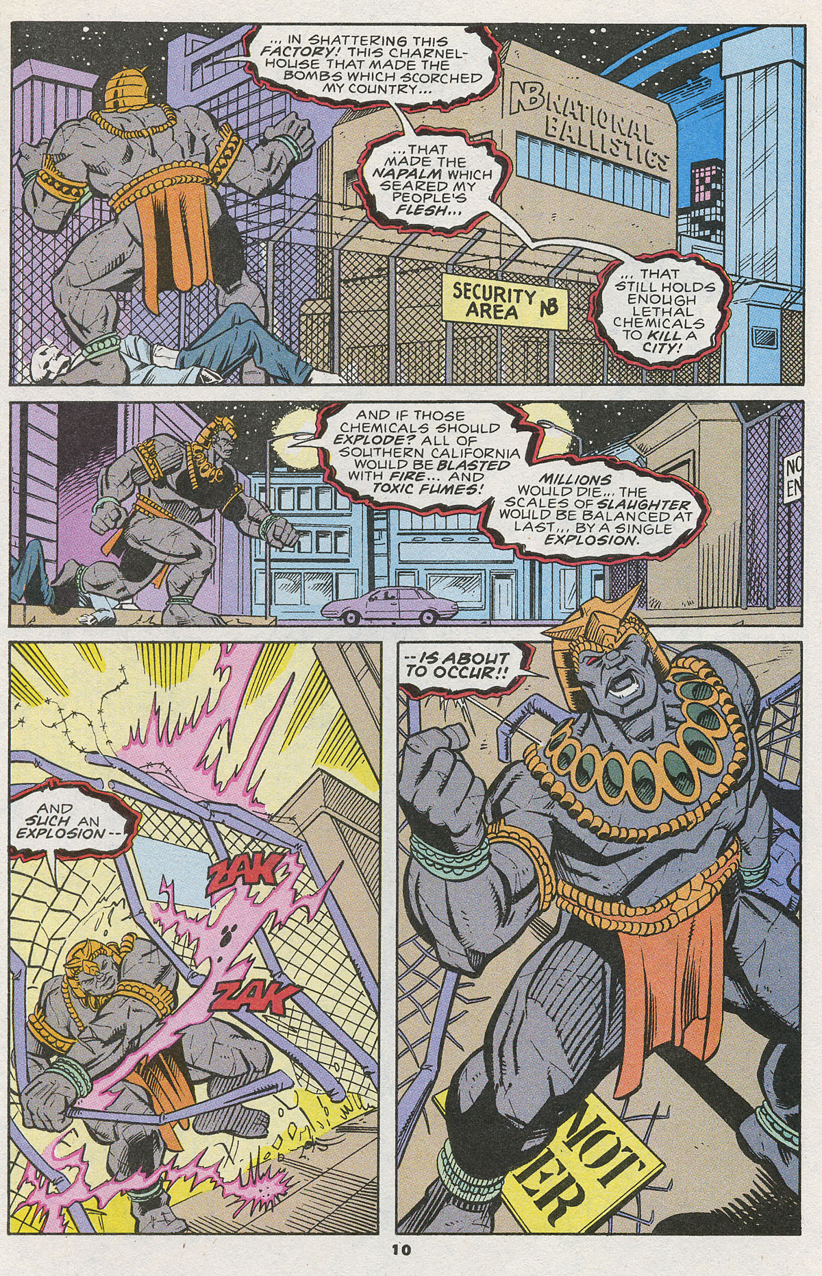 Read online Wonder Man (1991) comic -  Issue #12 - 9