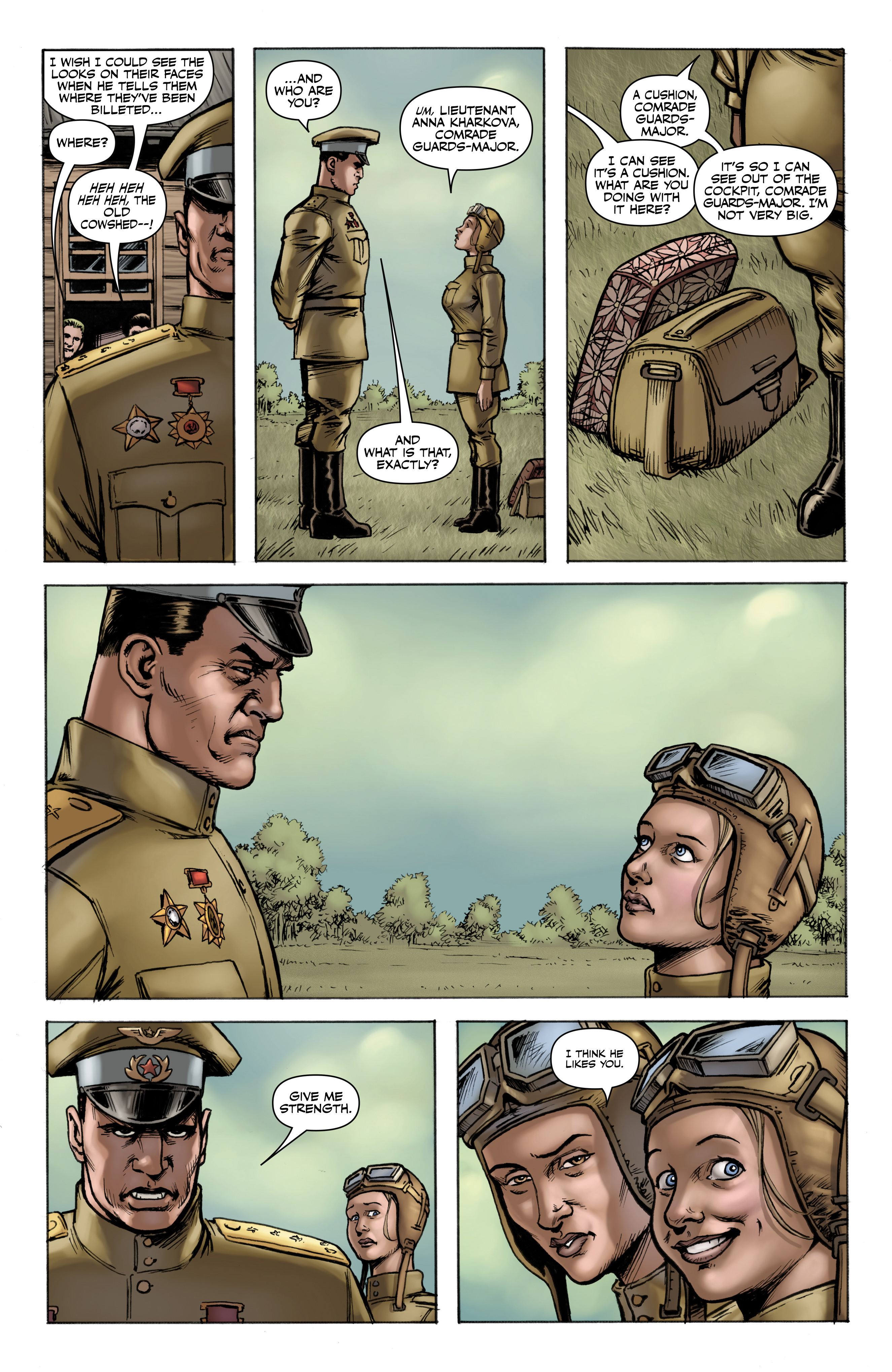 Read online Battlefields: Night Witches comic -  Issue # TPB - 10