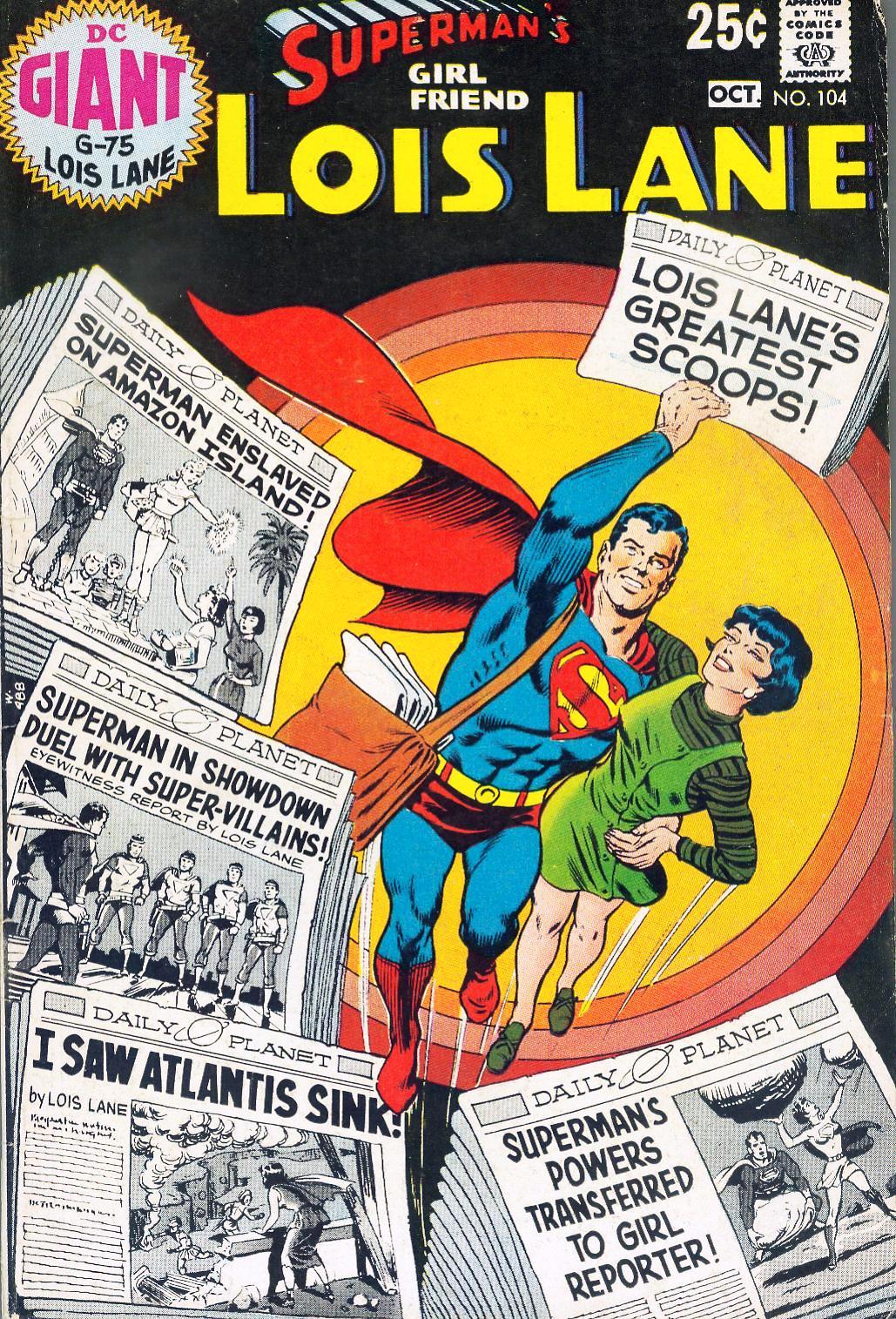 Supermans Girl Friend, Lois Lane 104 Page 1