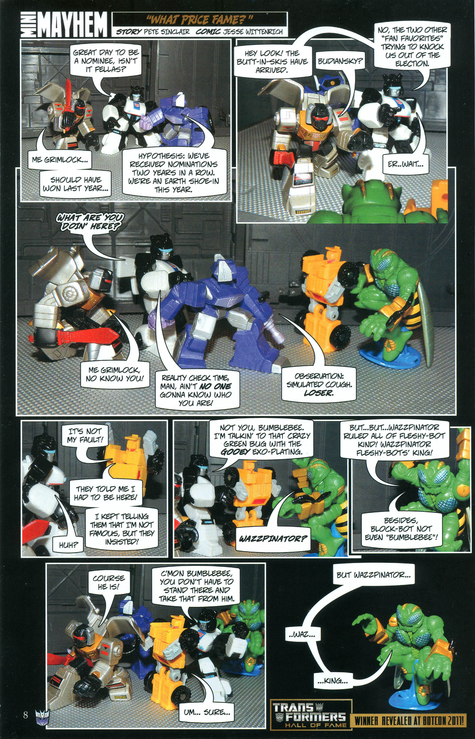 Read online Transformers: Collectors' Club comic -  Issue #39 - 8