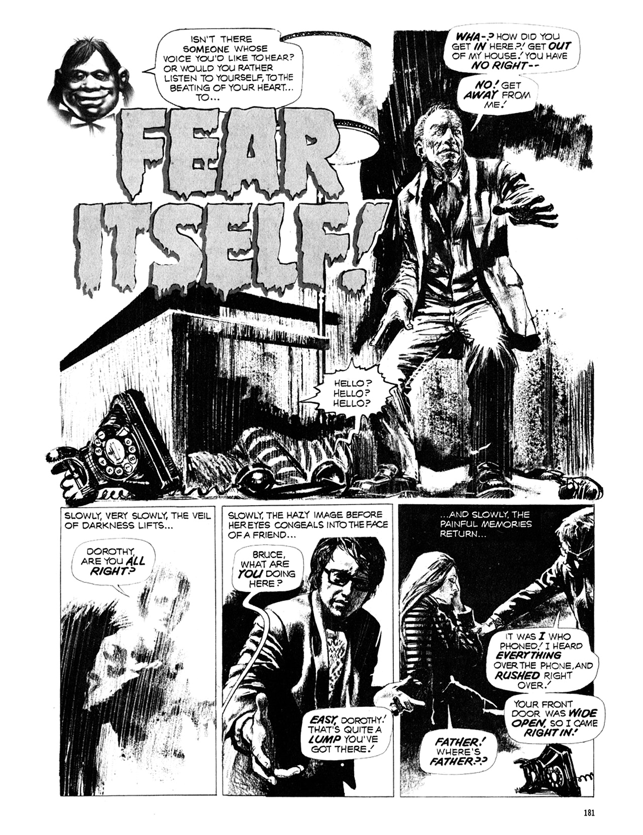 Read online Eerie Archives comic -  Issue # TPB 10 - 182