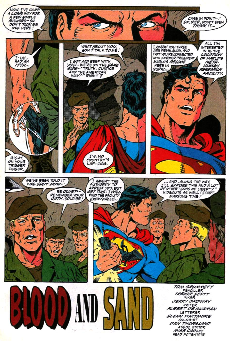 Read online Adventures of Superman (1987) comic -  Issue #490 - 4