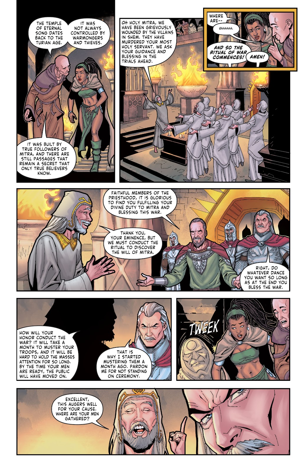 Red Sonja: The Price of Blood issue 2 - Page 21