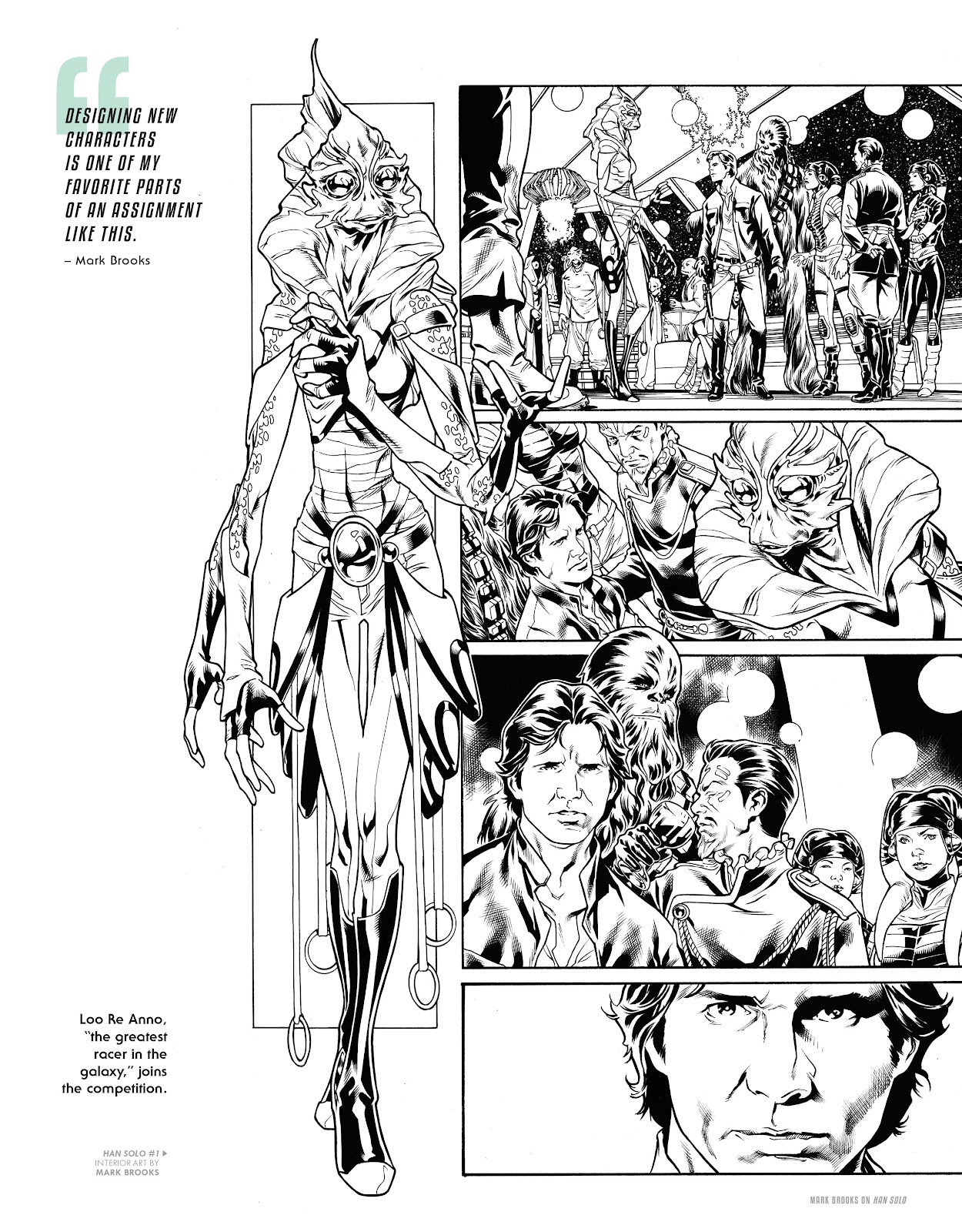 Read online The Marvel Art of Star Wars comic -  Issue # TPB (Part 2) - 40