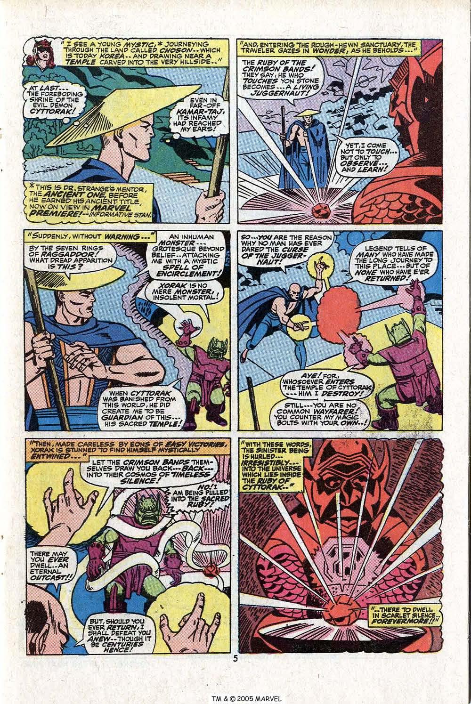 Read online Uncanny X-Men (1963) comic -  Issue #81 - 7