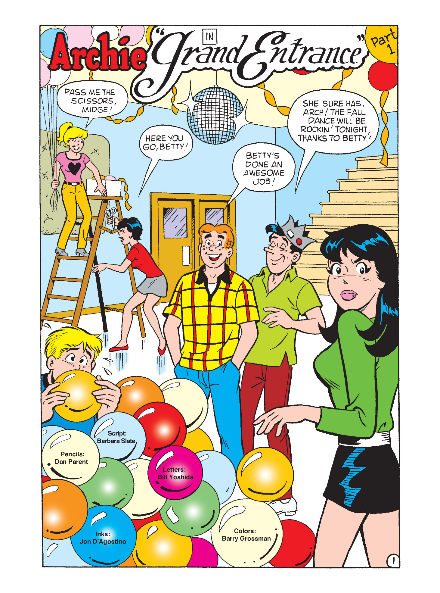 Read online Archie's Funhouse Double Digest comic -  Issue #9 - 62