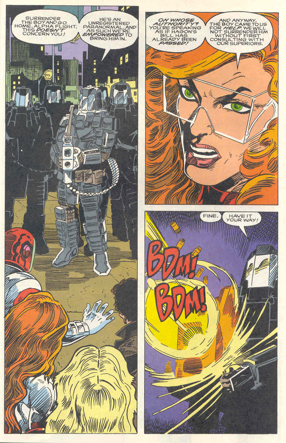 Read online Alpha Flight (1983) comic -  Issue #120 - 17