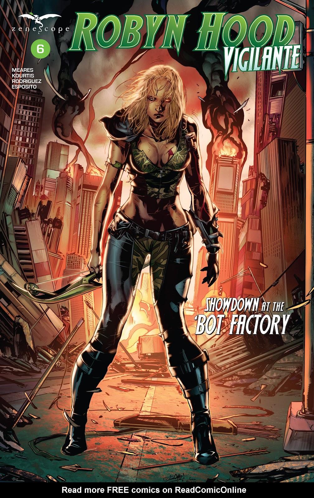 Robyn Hood: Vigilante issue 6 - Page 1