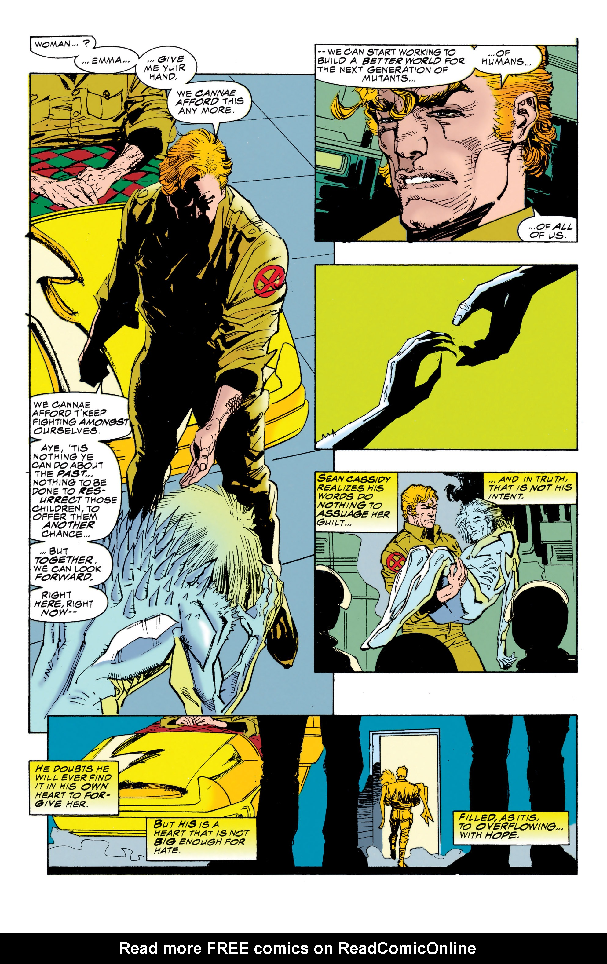 Read online Uncanny X-Men (1963) comic -  Issue #314 - 22