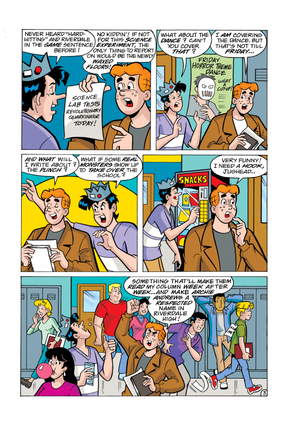 Read online Archie's Weird Mysteries comic -  Issue #1 - 4