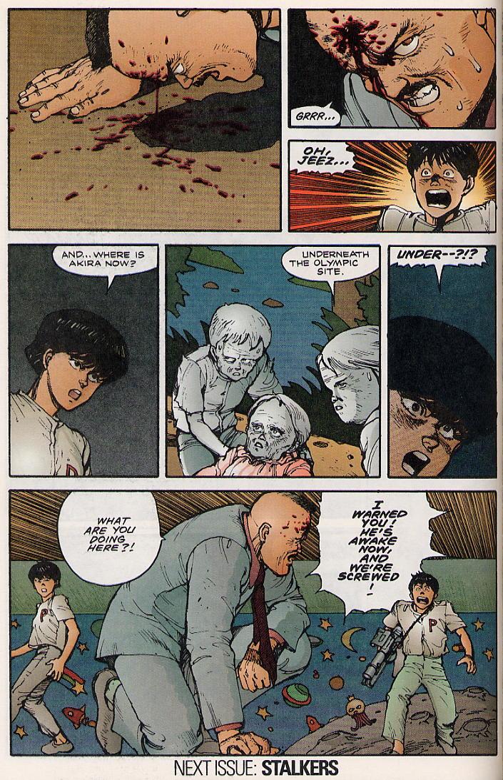 Read online Akira comic -  Issue #8 - 66