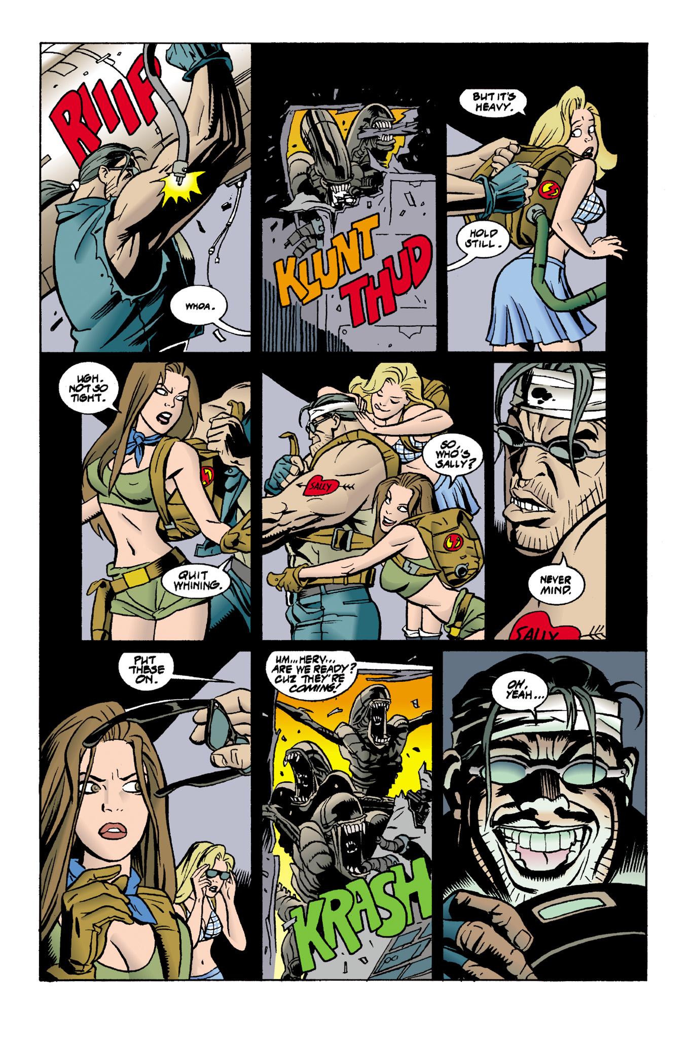 Read online Aliens: Mondo Heat comic -  Issue # Full - 9