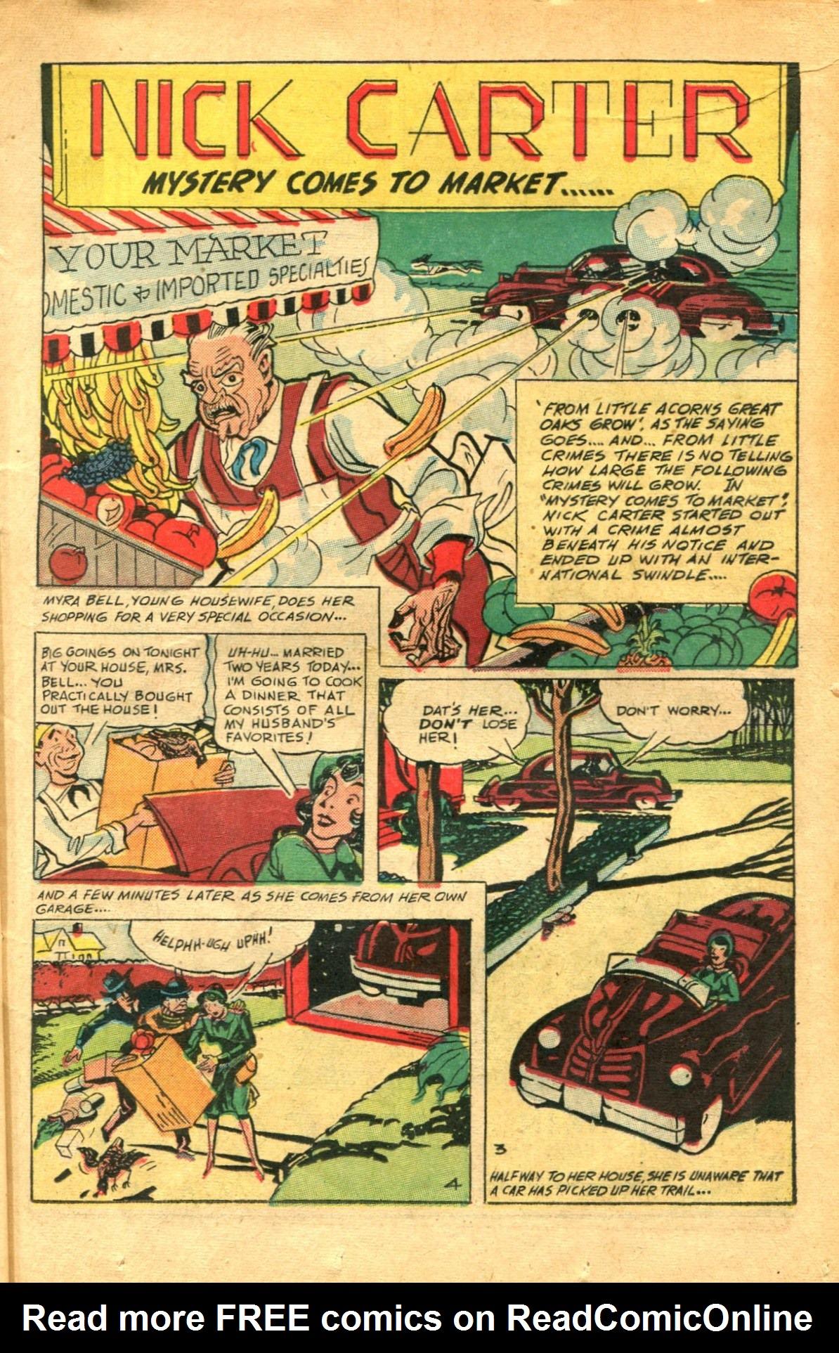 Read online Shadow Comics comic -  Issue #91 - 17