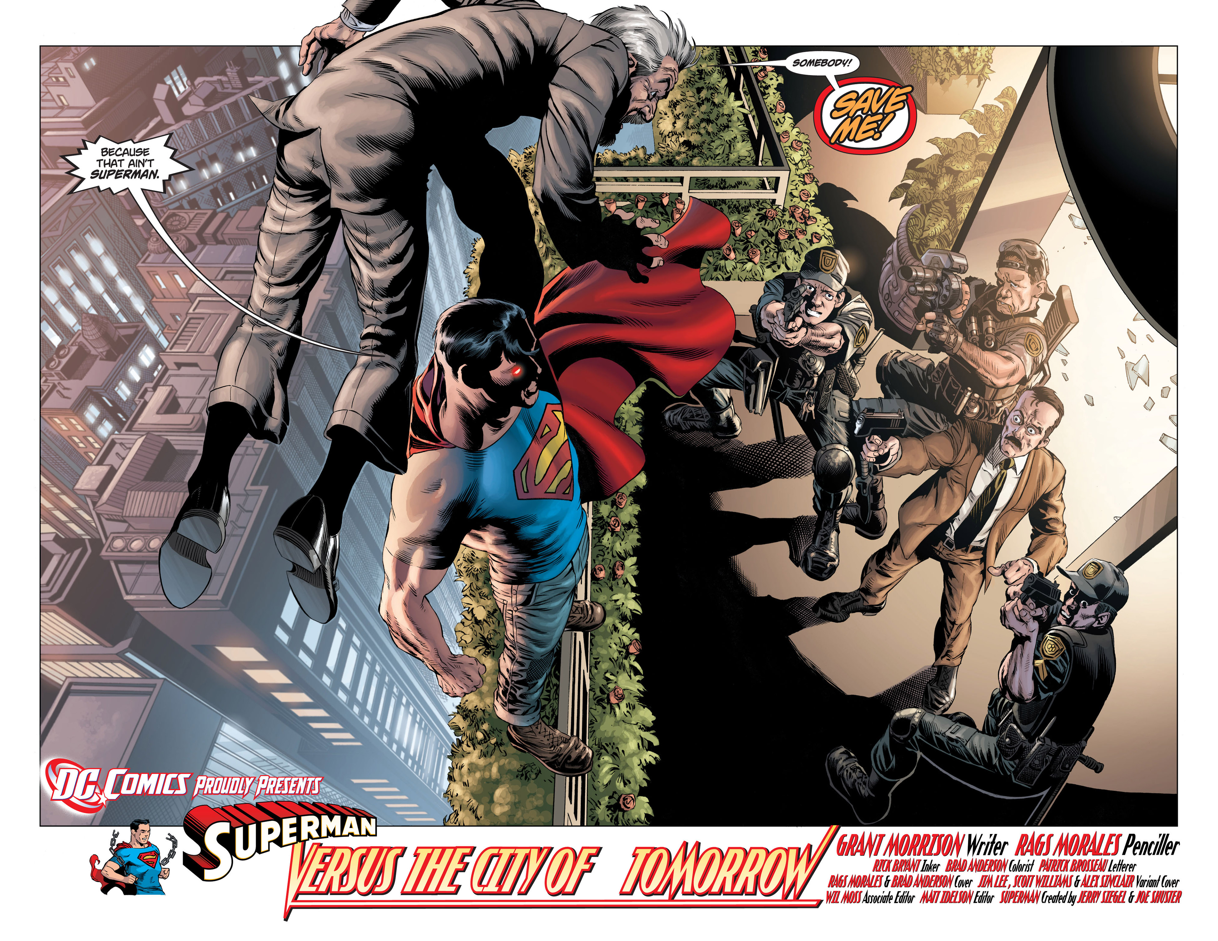 Read online Action Comics (2011) comic -  Issue #1 - 11