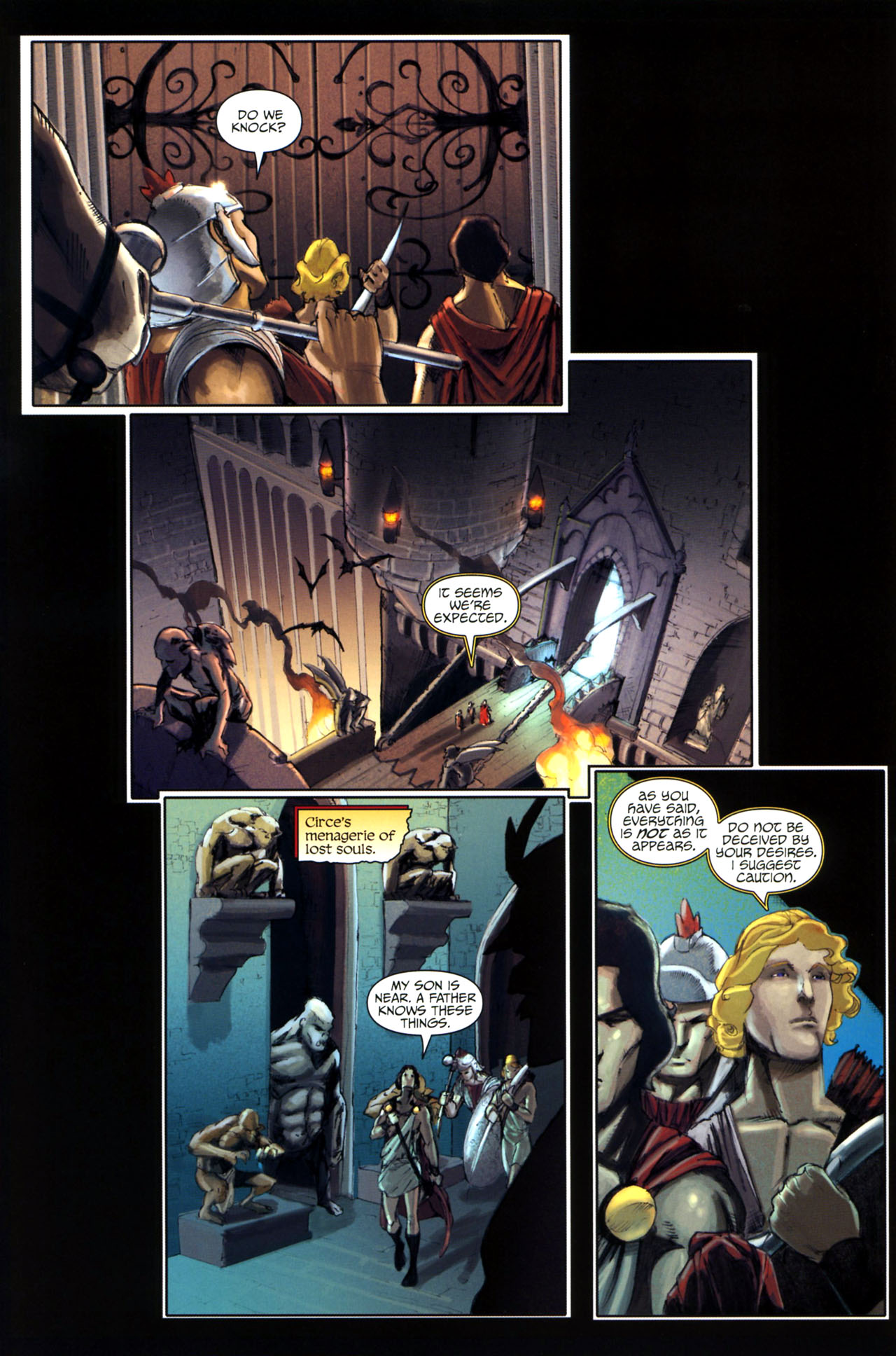 Read online Wrath of the Titans comic -  Issue #3 - 11