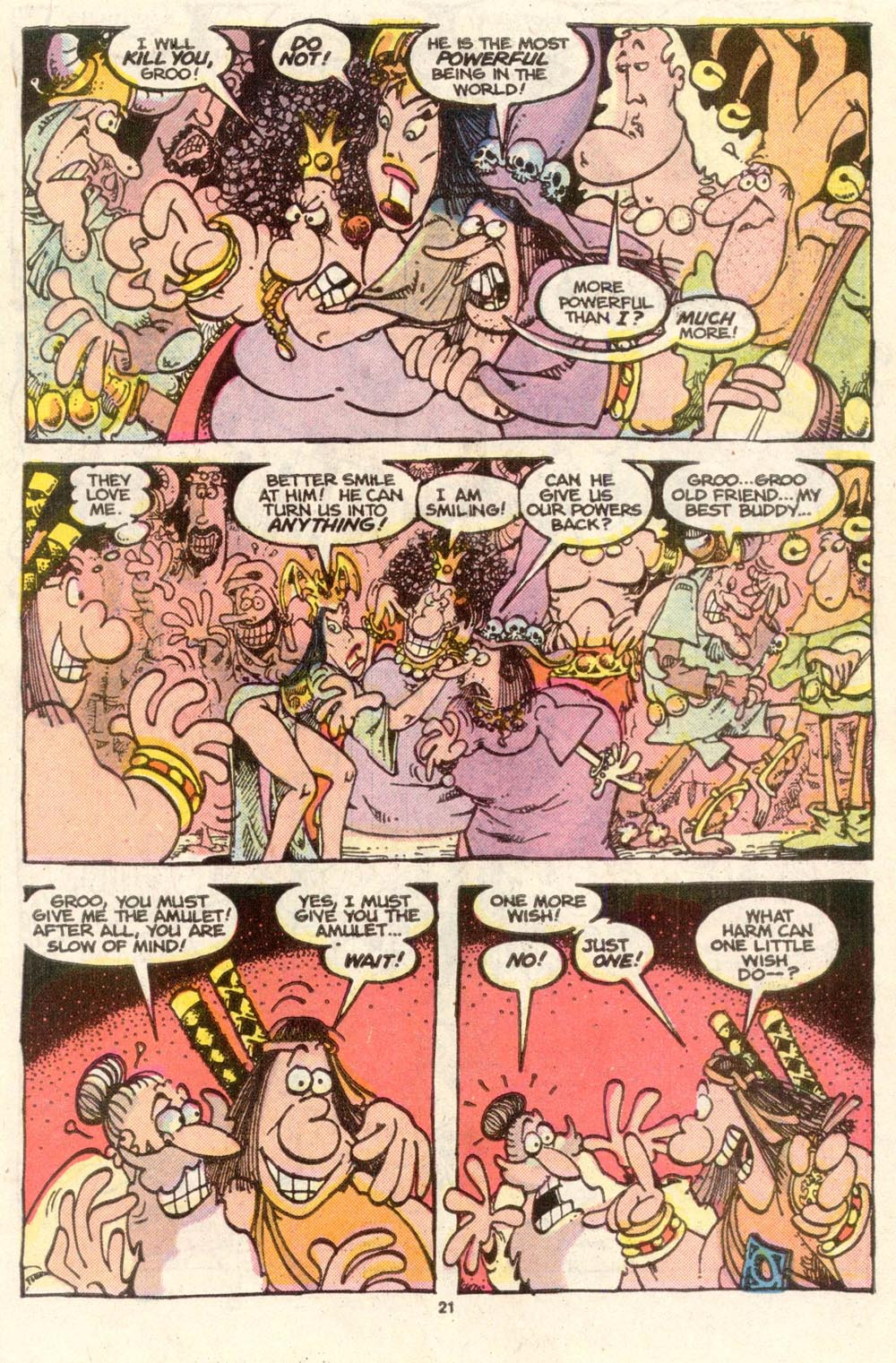 Read online Sergio Aragonés Groo the Wanderer comic -  Issue #35 - 23