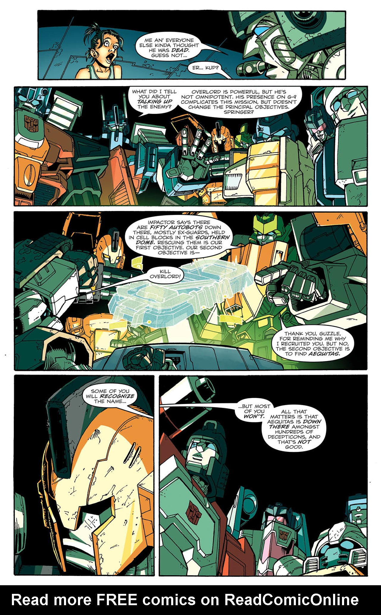 Read online Transformers: Last Stand of The Wreckers comic -  Issue #2 - 17