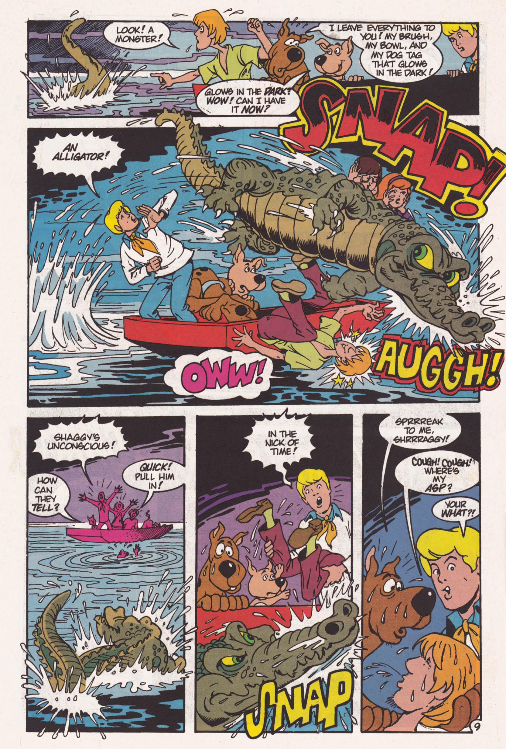 Read online Scooby-Doo (1995) comic -  Issue #1 - 10