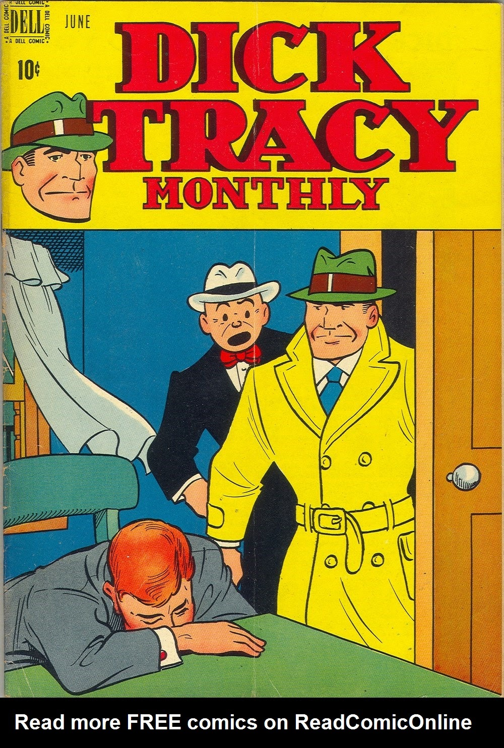 Dick Tracy Monthly 18 Page 1