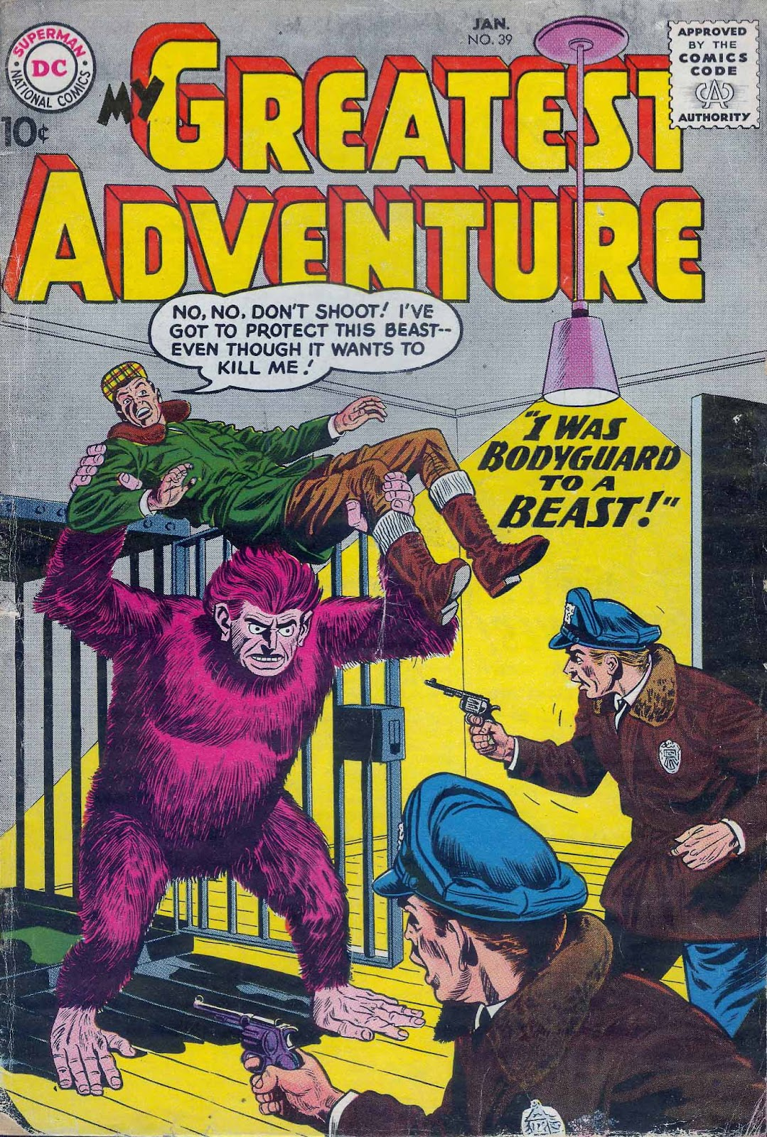 My Greatest Adventure (1955) 39 Page 1