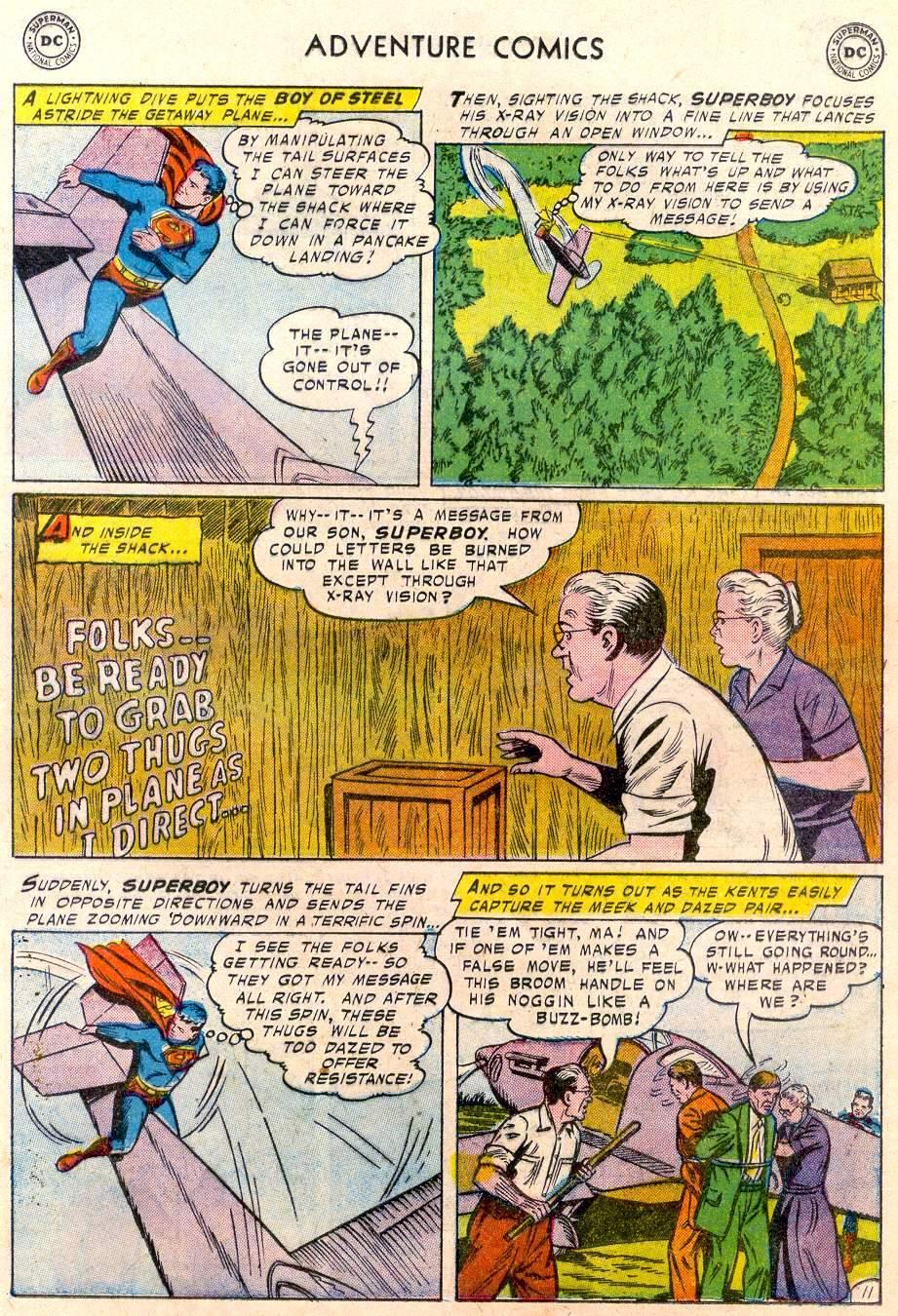 Read online Adventure Comics (1938) comic -  Issue #244 - 13