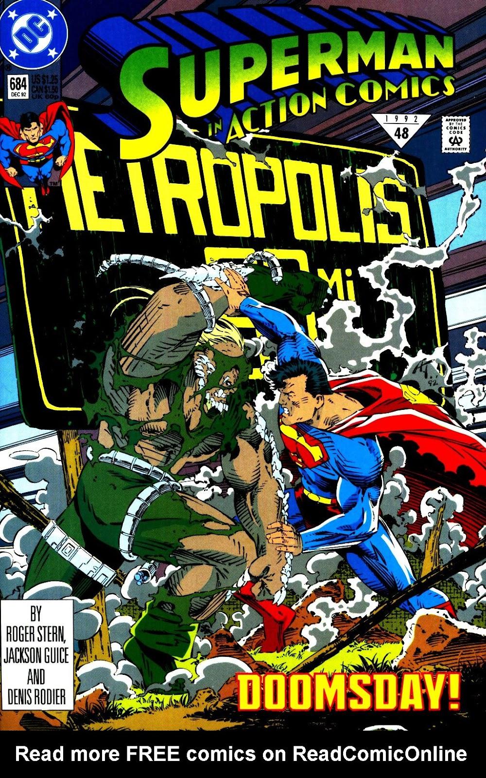 Action Comics (1938) 684 Page 1