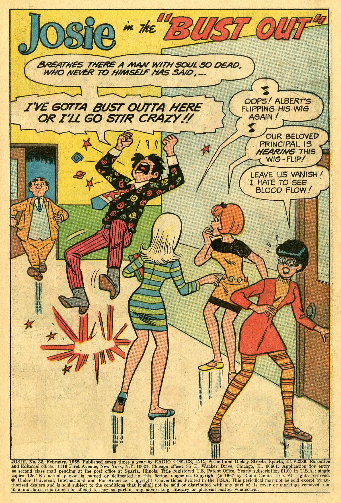 Read online She's Josie comic -  Issue #32 - 3