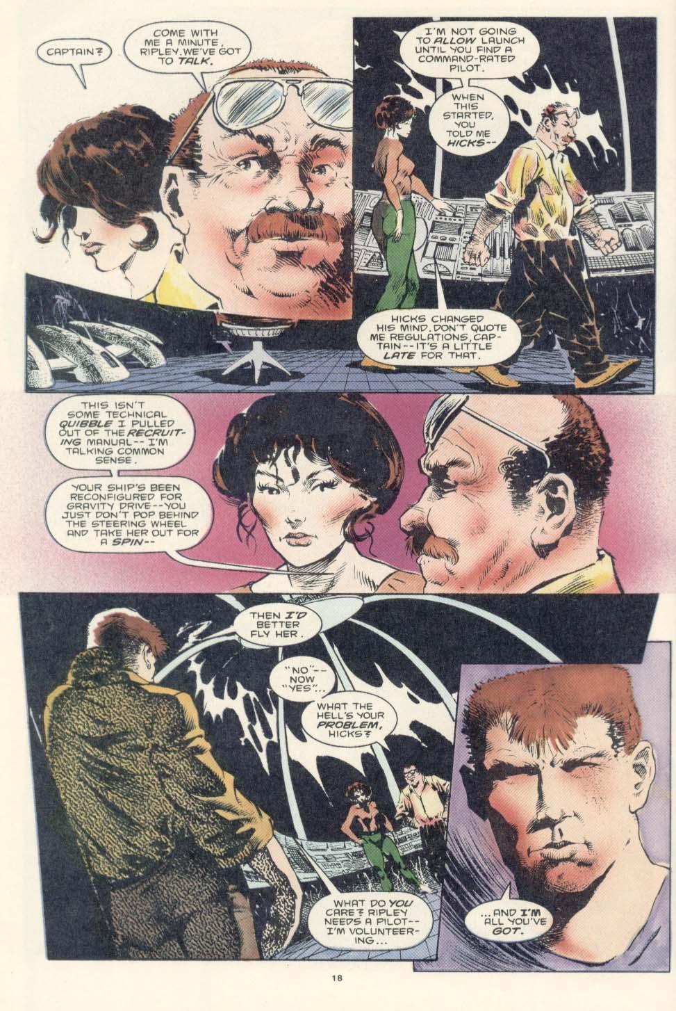 Read online Aliens: Earth War comic -  Issue #2 - 20