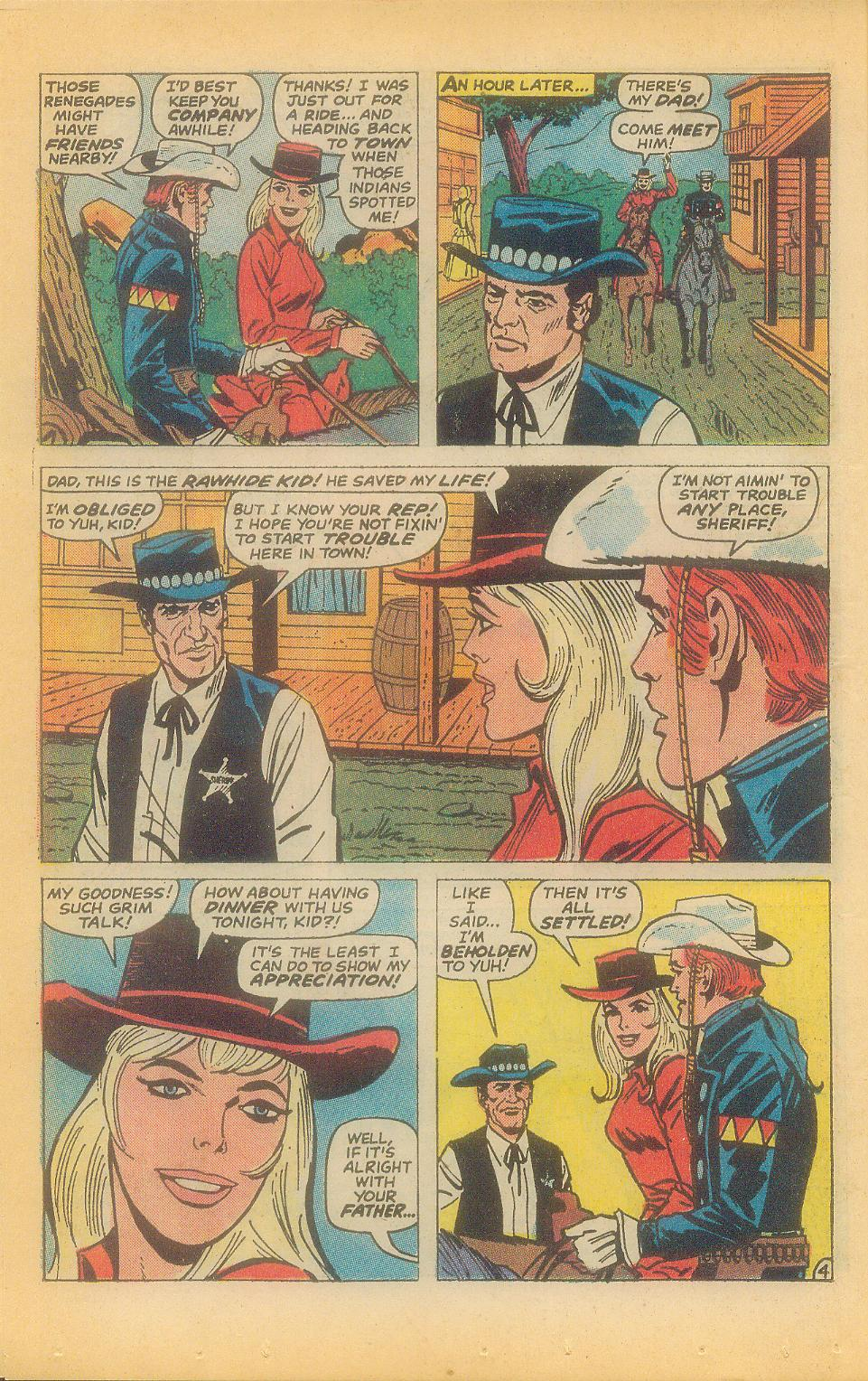 The Rawhide Kid (1955) issue 92 - Page 6