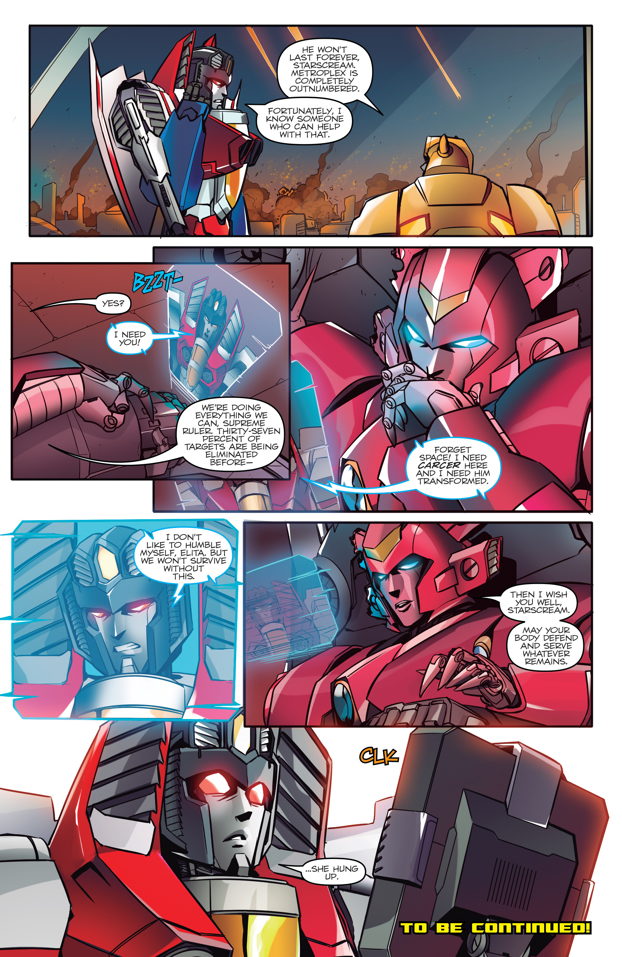 Read online Transformers: Till All Are One comic -  Issue #5 - 24