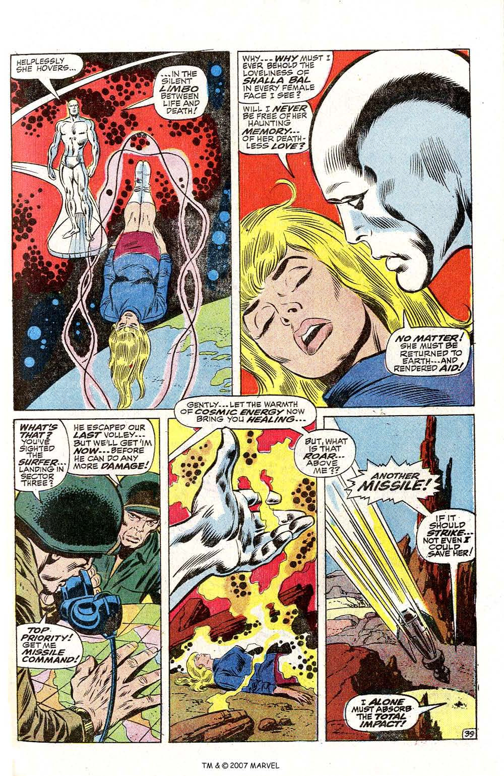Read online Silver Surfer (1968) comic -  Issue #2 - 51