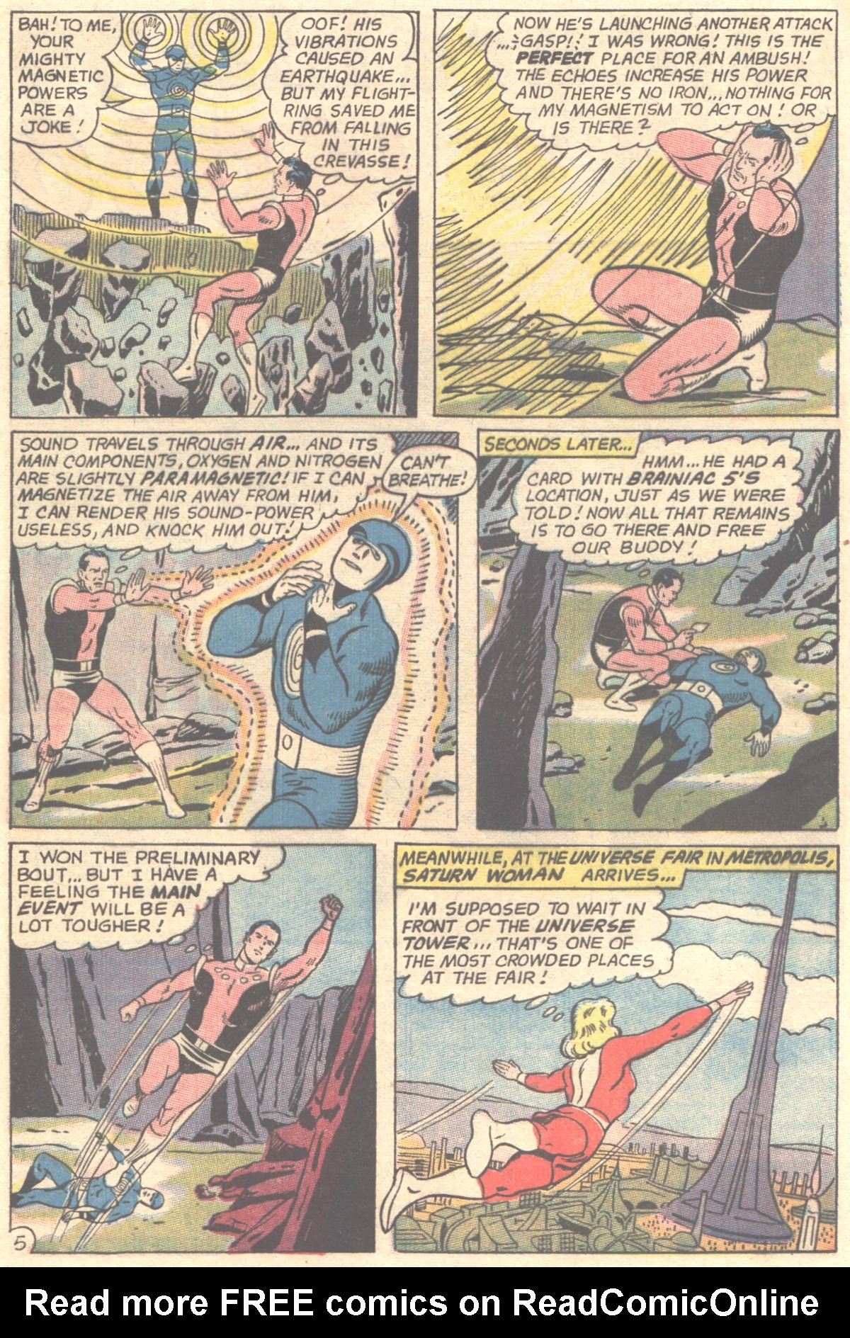 Read online Adventure Comics (1938) comic -  Issue #355 - 8