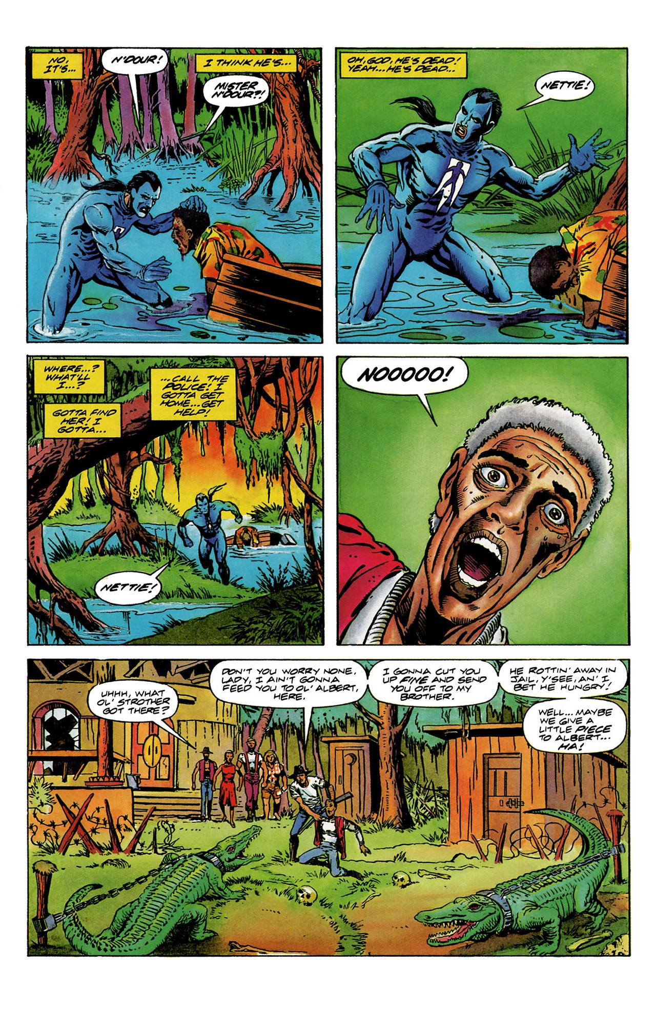 Read online Shadowman (1992) comic -  Issue #6 - 6