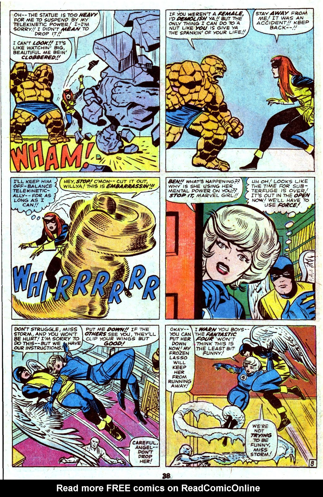Giant-Size Fantastic Four issue 4 - Page 40