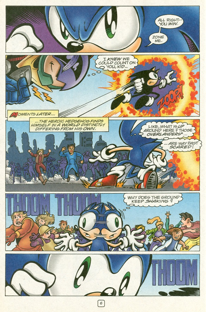Read online Sonic Super Special comic -  Issue #12 - Sonic and Knuckles visa versa - 23