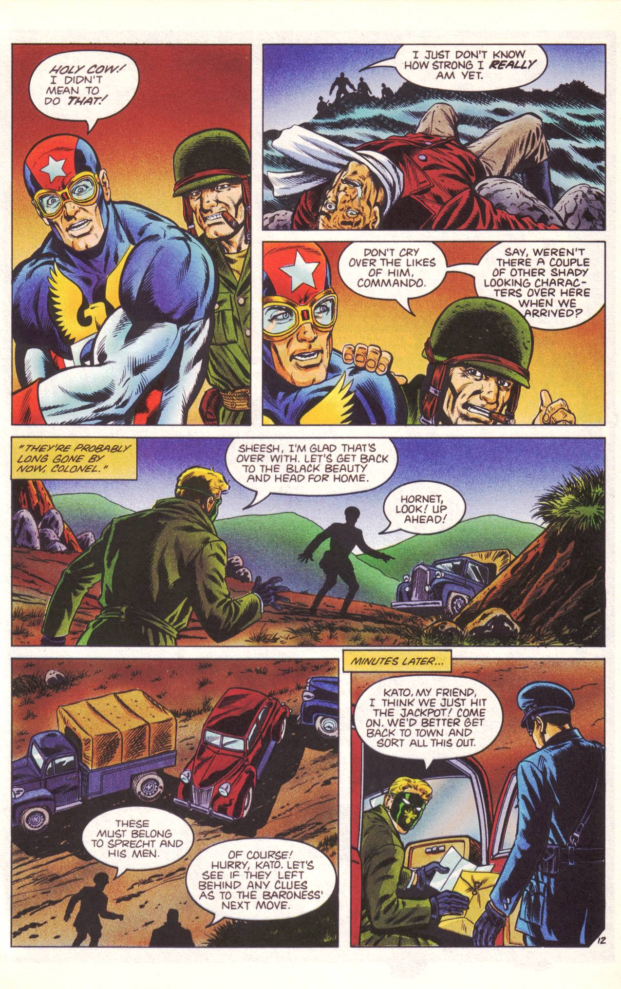 Read online Sting of The Green Hornet comic -  Issue #3 - 13