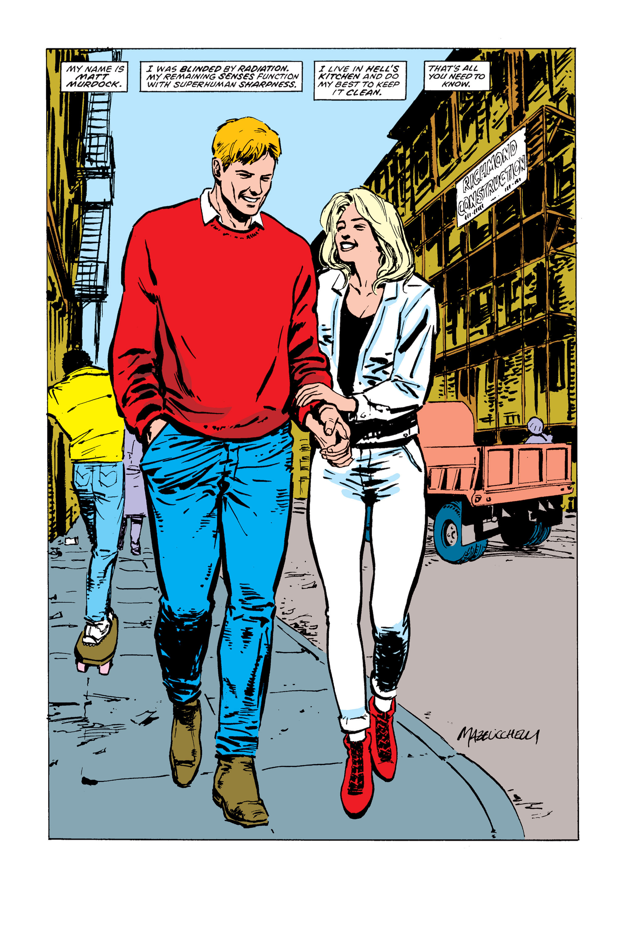 Read online Daredevil: Born Again comic -  Issue # Full - 199