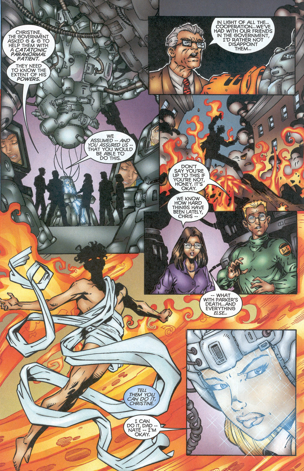 Read online Troublemakers comic -  Issue #13 - 5