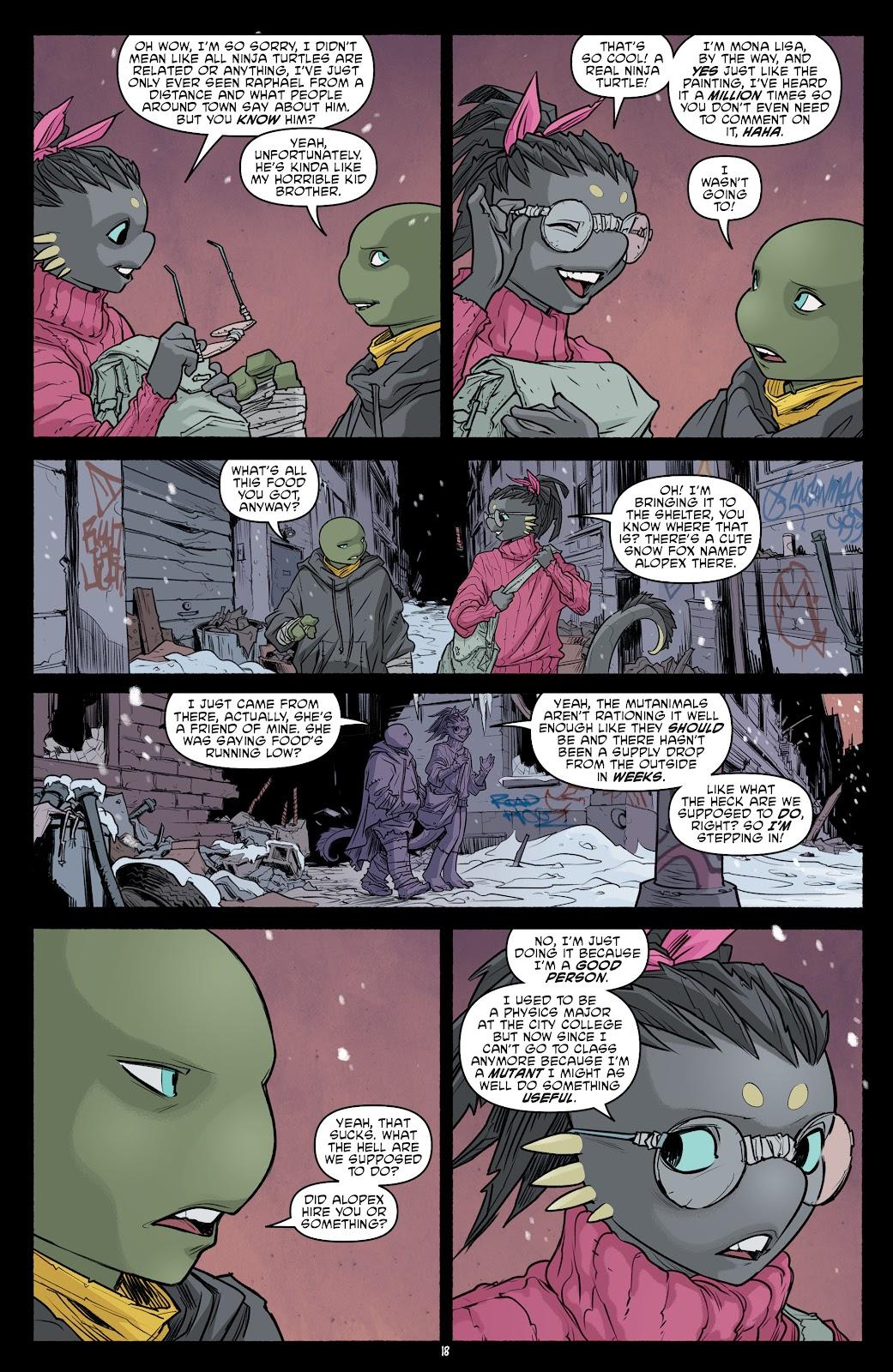 Read online Teenage Mutant Ninja Turtles (2011) comic -  Issue #101 - 20