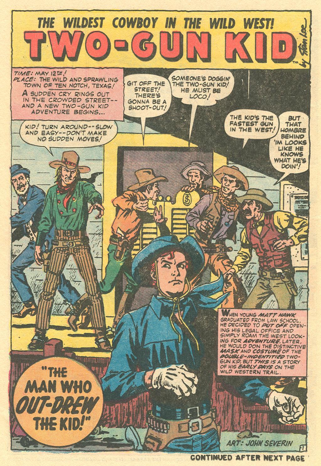 Read online Two-Gun Kid comic -  Issue #113 - 24