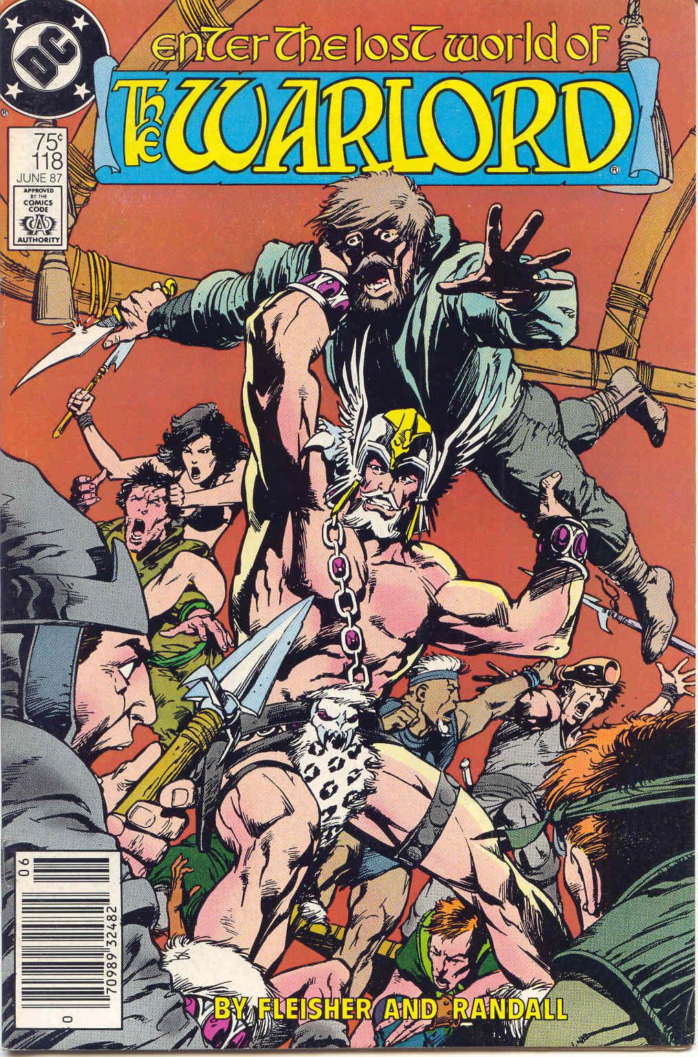 Warlord (1976) 118 Page 1