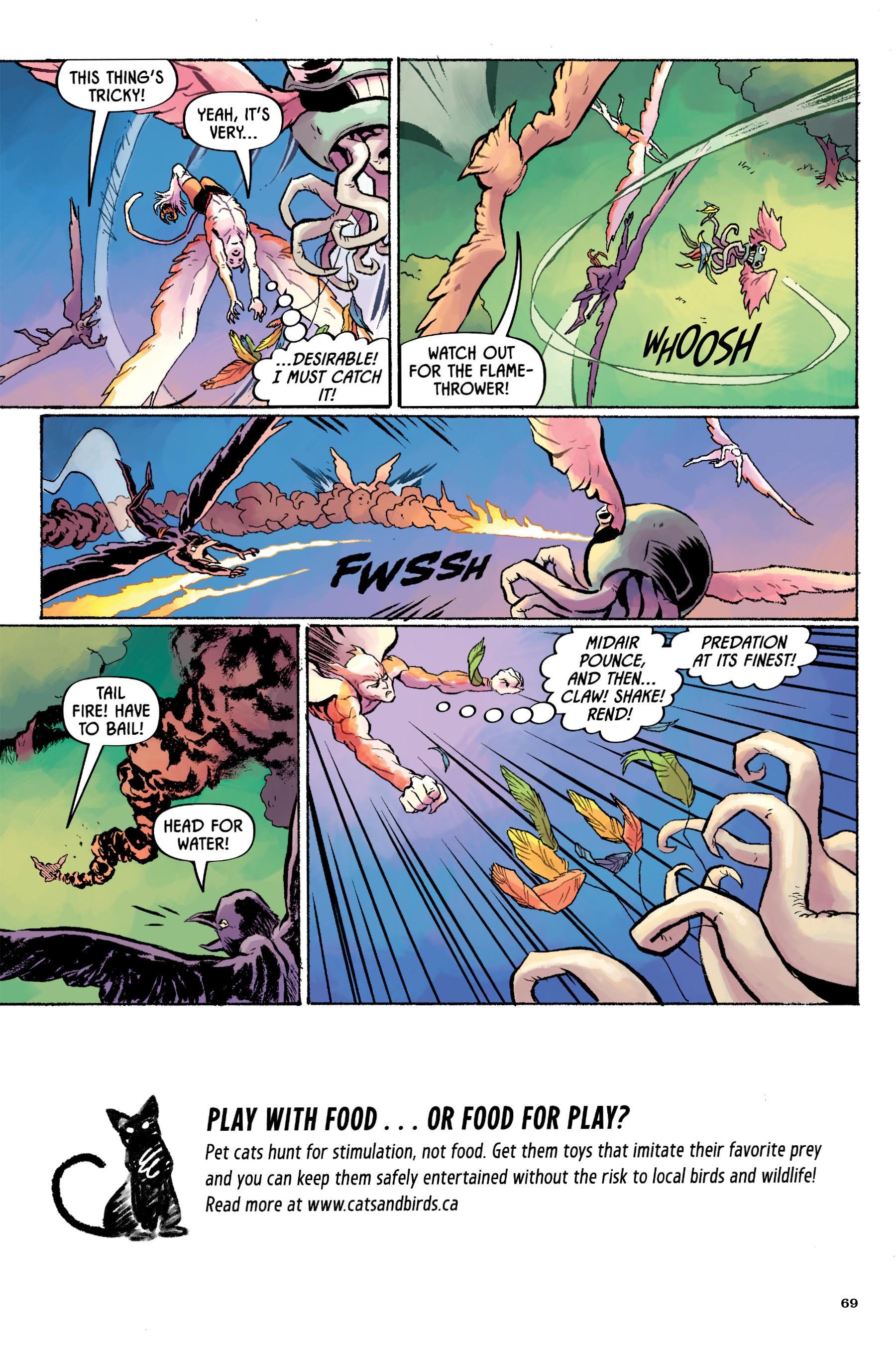 Read online Angel Catbird comic -  Issue # TPB 2 - 70
