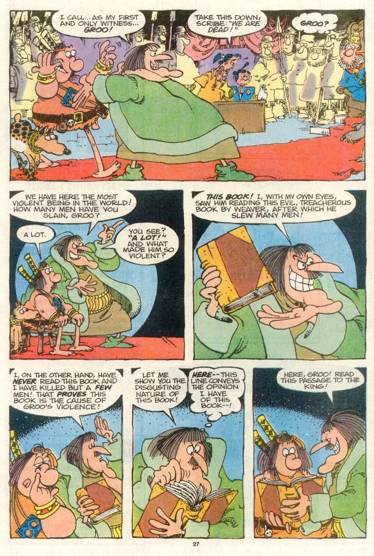 Read online Sergio Aragonés Groo the Wanderer comic -  Issue #78 - 22