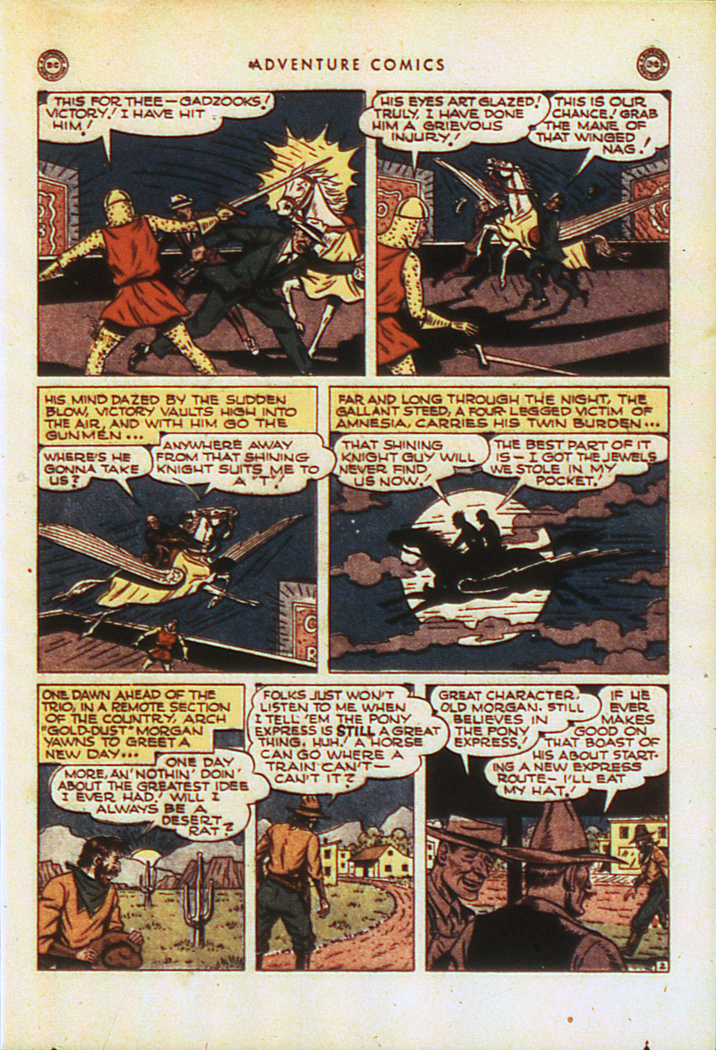 Read online Adventure Comics (1938) comic -  Issue #104 - 32