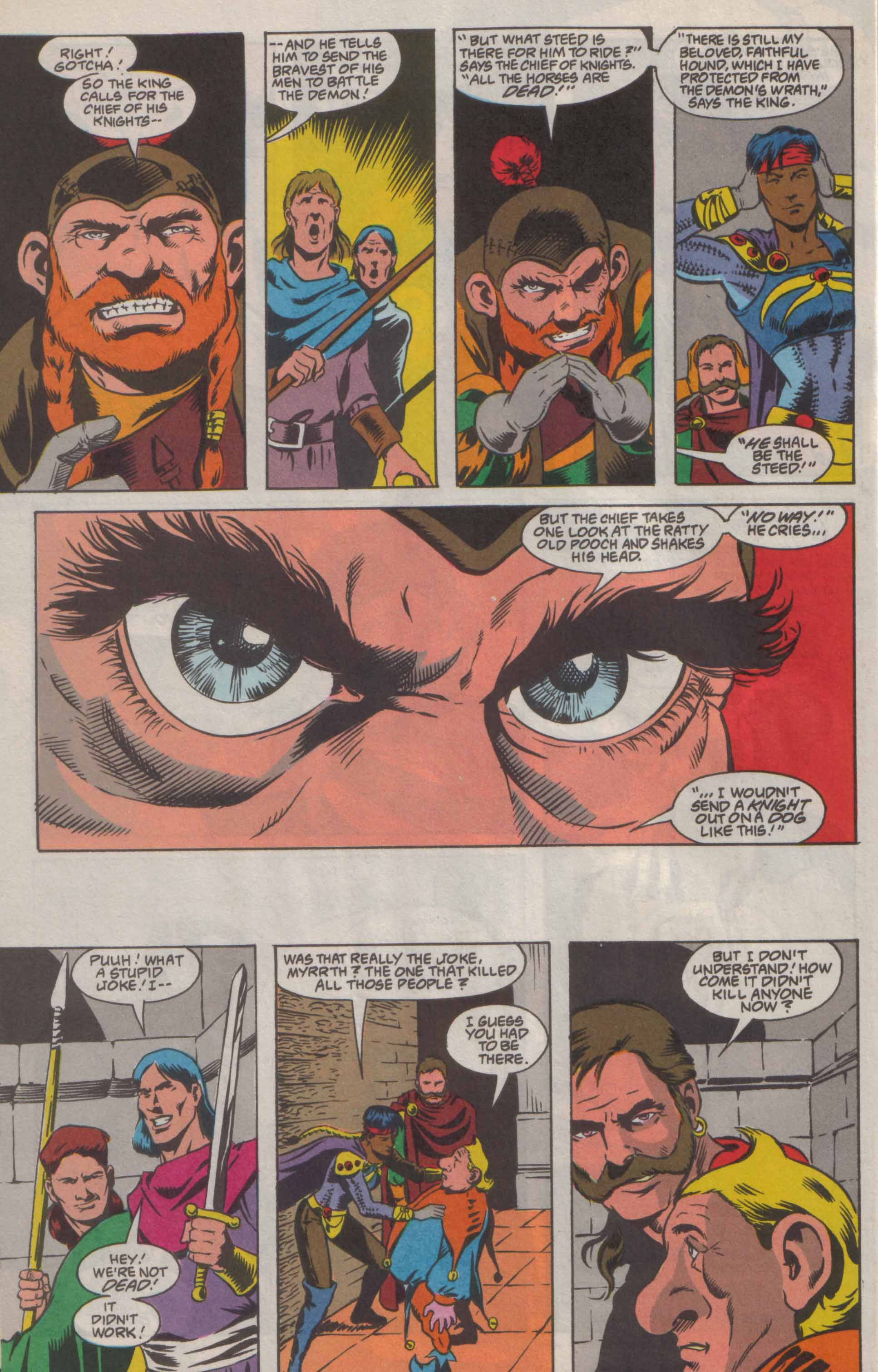 Read online Advanced Dungeons & Dragons comic -  Issue #8 - 17